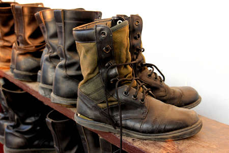 military boots: military boots