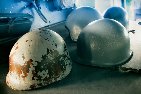 grunt: Marine helmet Stock Photo