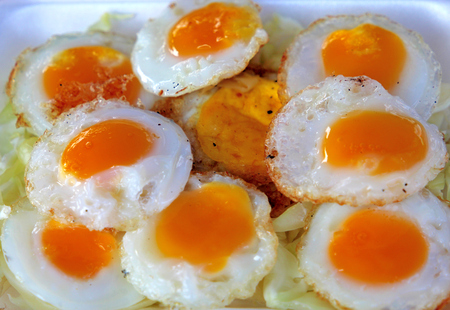 served: Served with fried quail egg
