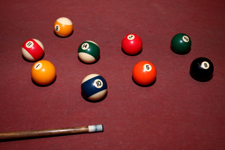 snooker: Snooker pool Stock Photo