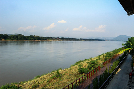 mekong river: Mekong River at the chiangkhan