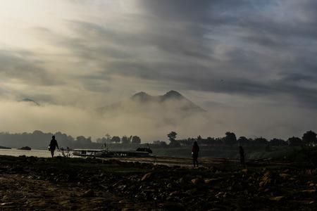 mekong: Mekong rapids Stock Photo