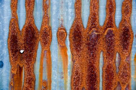 rusty zinc texture , rusty zinc barn wall.