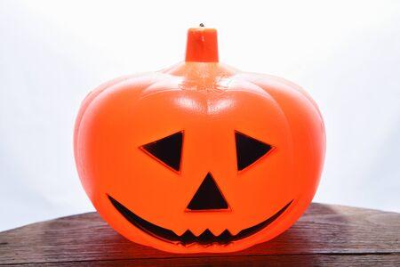 Halloween Pumpkins isolated on white background, Halloween background Stock fotó