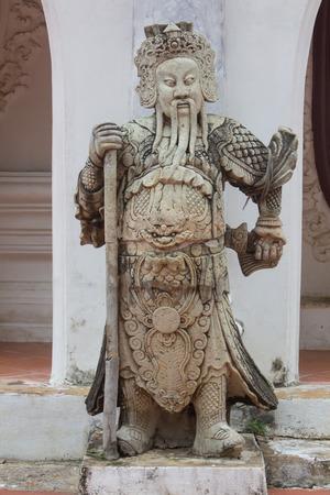 statuary: Chinese god statuary