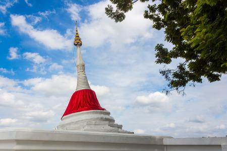nonthaburi: Tilt pagoda in Ko Kret ,Thailand Editorial