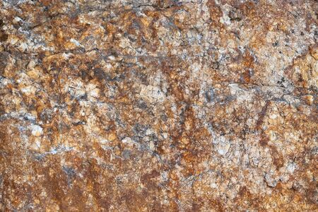 Granite texture is natural and untreated.