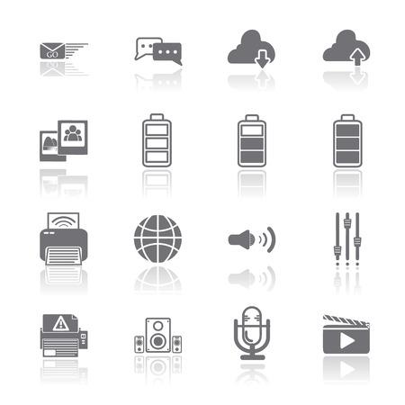 PC Mobile Interface Icon  Vector