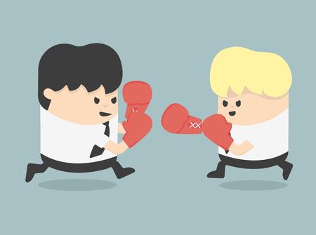padding: Competitiveness of business Illustration