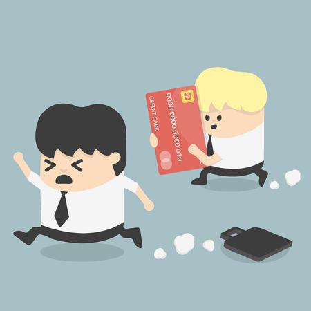 prisoner of the money: Credit Card