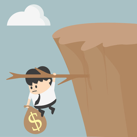 Fiscal cliff Vector