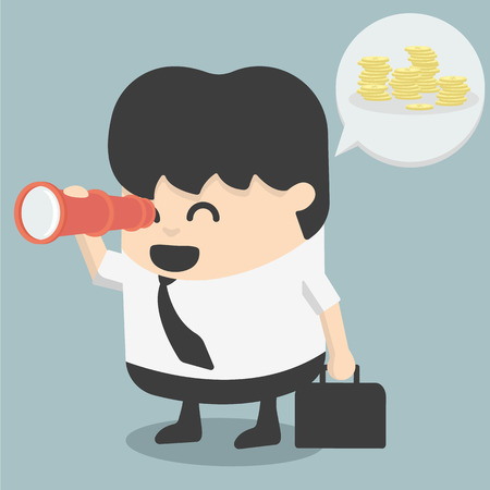 Looking for success Vector