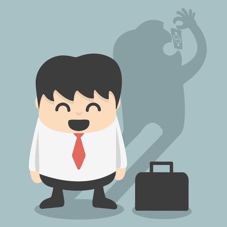 fraudster: impostore Vettoriali