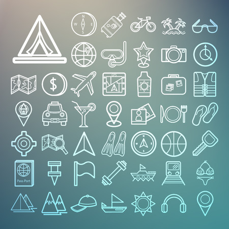 hotel icon: Equipment Travel and sea icons Retina
