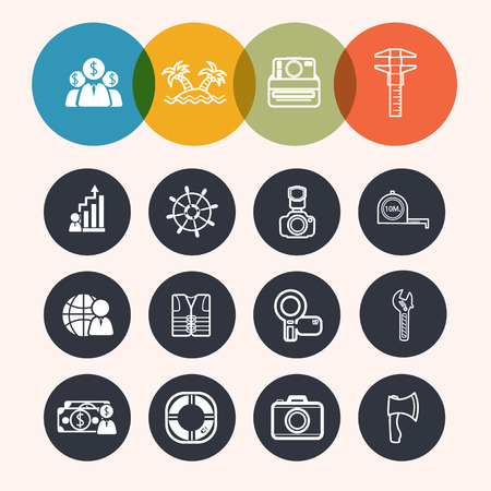 reamer: collection Circle Series icons