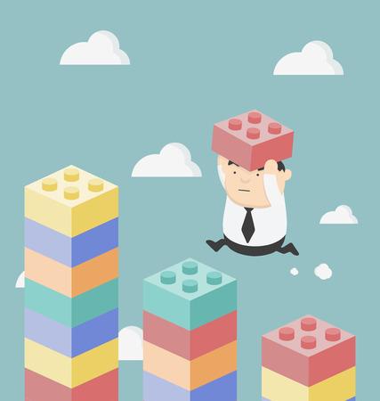 la croissance financière et une meilleure vie