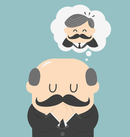 Dreams of bald men