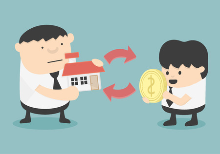 homeowner: Home Buying Illustration