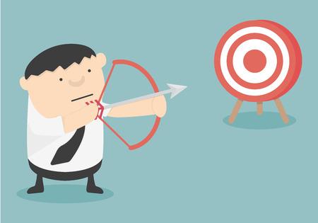 bowman: Get Target cartoon