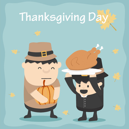 party hats: Thanksgiving Day