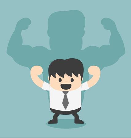 la union hace la fuerza: Empresario sombra es fuerte