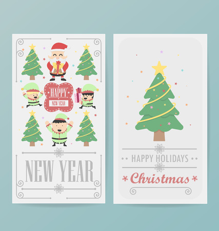 christmas card design layout template stock vector 34245327 - Christmas Card Layout