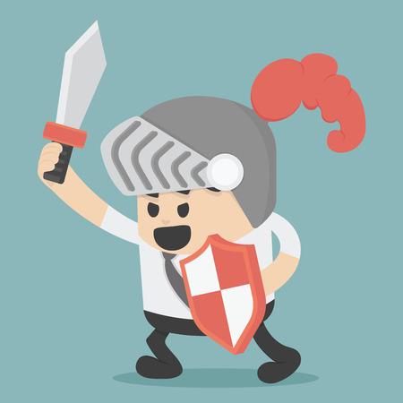 기업의 전투 일러스트