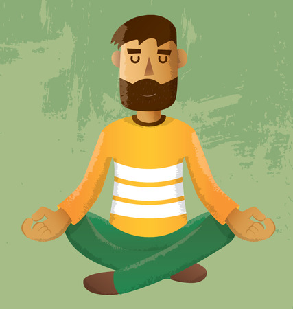 méditation Illustration