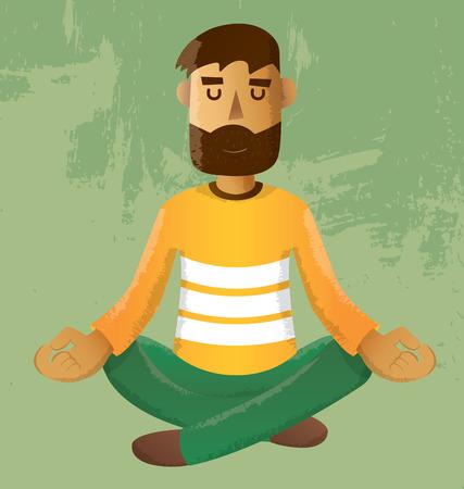 méditation Illustration