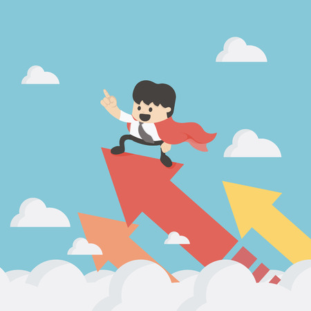 crecimiento: Súper Empresas de Crecimiento Concepto