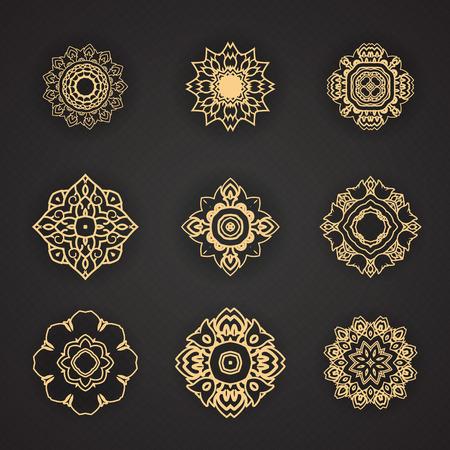 디자인 태국 예술 요소
