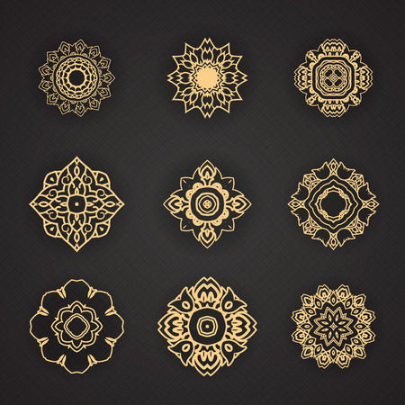 Thaise kunst element voor ontwerp Stockfoto - 41668962