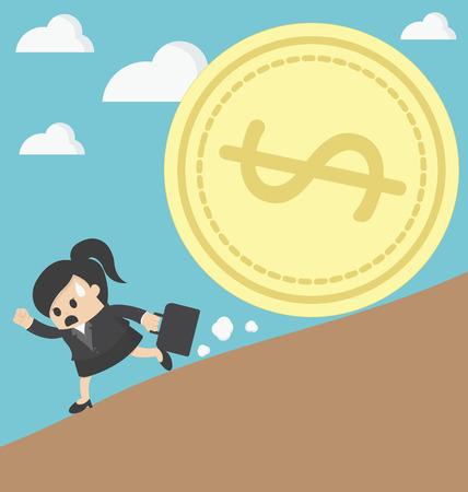 TRAP: business woman run money trap