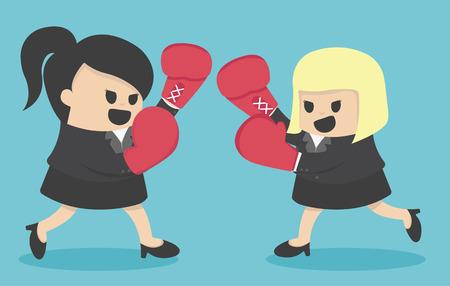 competitividad: Competitividad de las empresas Vectores