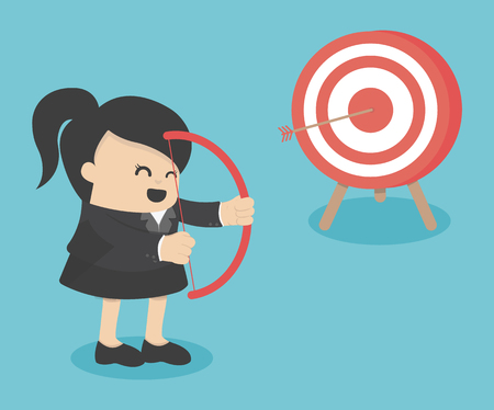 archer: businessman archer Illustration