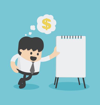 values: Plans to make money Illustration