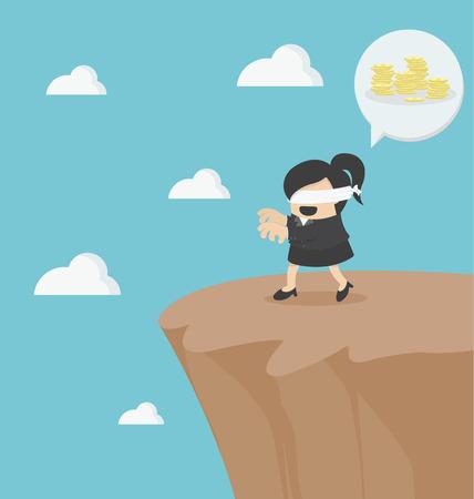 rischio in affari con l'imprenditore cieco