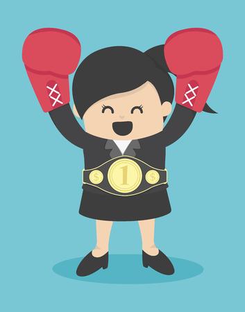 winners: Business woman the winner