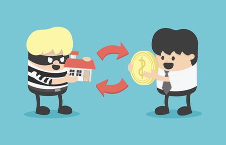 buying: Buying stolen goods