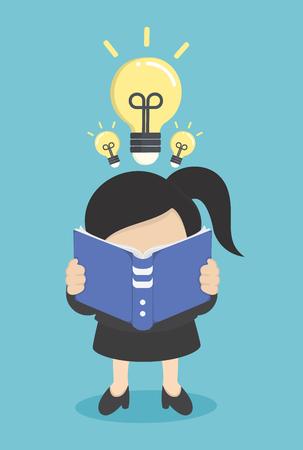 Livre de lecture d'affaires