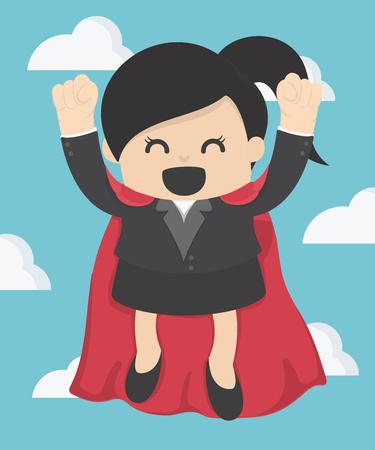 Super business woman
