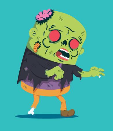 vecteur de style zombie