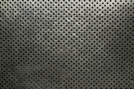 Diagonal Metallic mesh grid net fence texture background Banque d'images