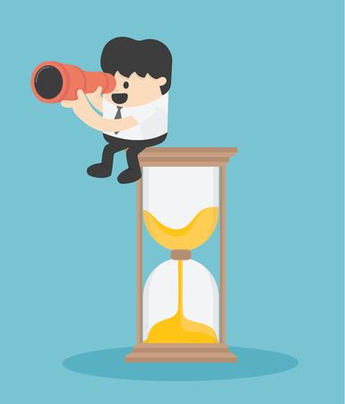 concept of businessmen of time Banque d'images - 112198468