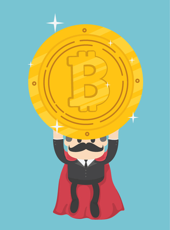 Super businessmen who can help bitcoin coins out of the financial crisis.