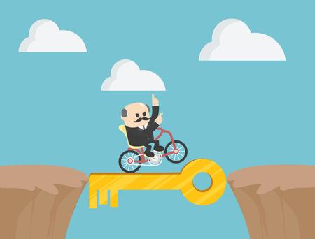 Acrobatic Bike Show on Dangerous Success Banque d'images - 111224110