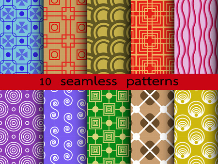 Pattern seamless diverse for wallpapers and background Vector