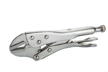 locking up: Locking Pliers With Closed Jaws.