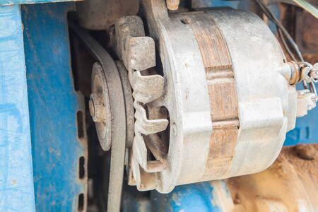 Old alternator for on the engine