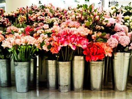 the fresh of the flower vases